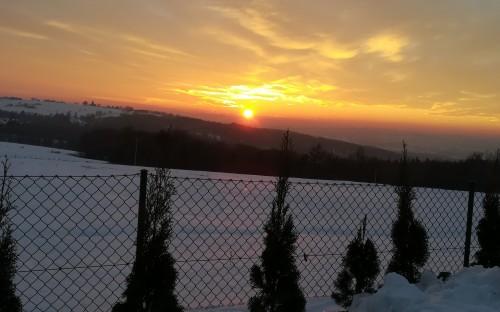 Paulina Drożdż - Zimowy zachód słońca image