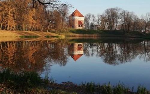 Tomasz Kubik - Jesień przy baszcie w Rzemieniu image